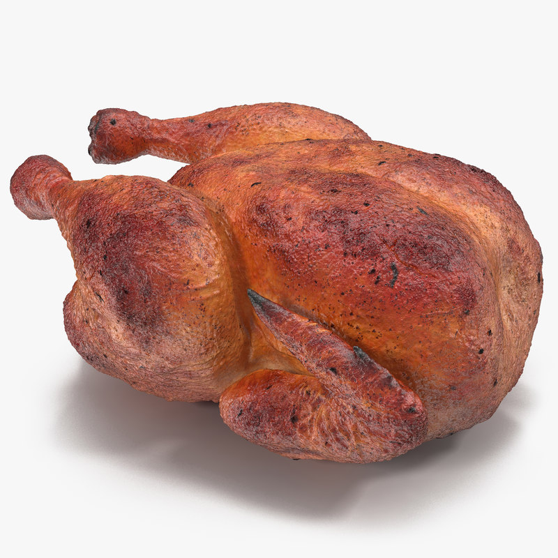 Roasted Turkey 3d model 01.jpg