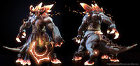 3d games marmoset unreal model