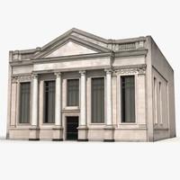 building columns 3d model