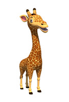 Cartoony Giraffe