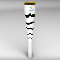 rio olympic torch polys 3d 3ds