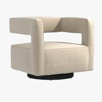 chair nico return swivel 3ds
