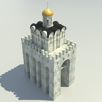 3d model golden gate vladimir