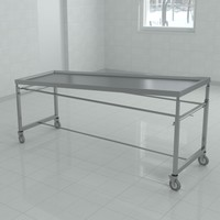 3d washing autopsy tables