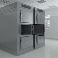 3d morgue refrigeration unit