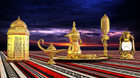 ramadan decoration 3d max