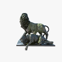 Statue of Lion Family(1)(4)(1)