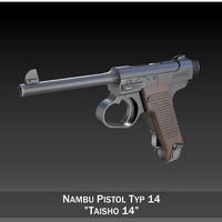 nambu typ14 - pistol 3ds