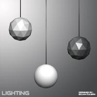 3d model of chandeliers