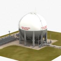 3d lh2 storage facilities apollo launch model