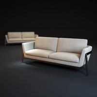 3d clap-sofa model
