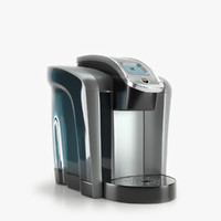 3d model keurig k575 coffee maker