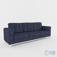vogue modern sofa 3d obj