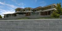 really big Latin Hacienda Modern Mansion