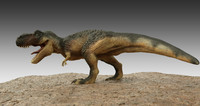 3d model t-rex animation