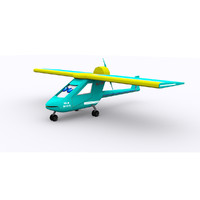 3d model ultralight cartoon