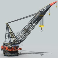 crane vessel 3ds