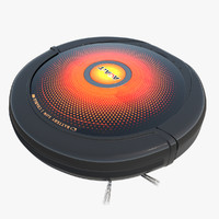 3d model robot vacuum cleaner agait