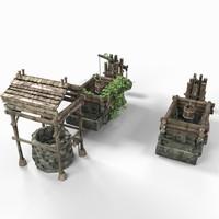 wells 3d model