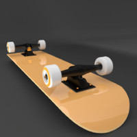 skateboard highpoly skating 3ds