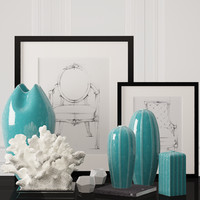Decoration set by Kelly hoppen