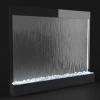 decorative panel waterfall max