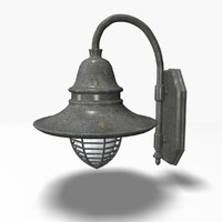 outdoor lamp 3d max