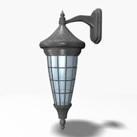 3d outdoor lamp model