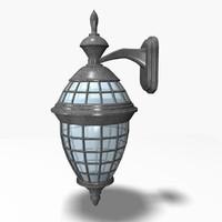 outdoor lamp 3ds