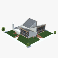 architecture stirling camberwell 3d max