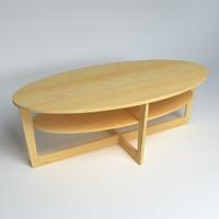 3d model ikea table vejmon