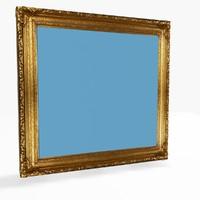 picture frame 3d model