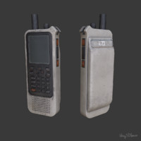radio scanner 3d model
