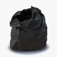 garbage bag 2 3d max