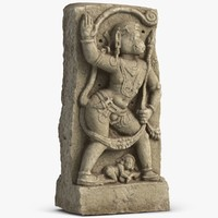 hampie stone hanuman 1 3d model