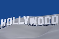 3d model hollywood sign