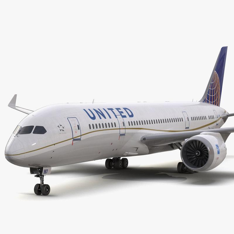 Boeing 787-3 Dreamliner United Airlines 3d model 01.jpg