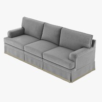 3d model sofa greatroom