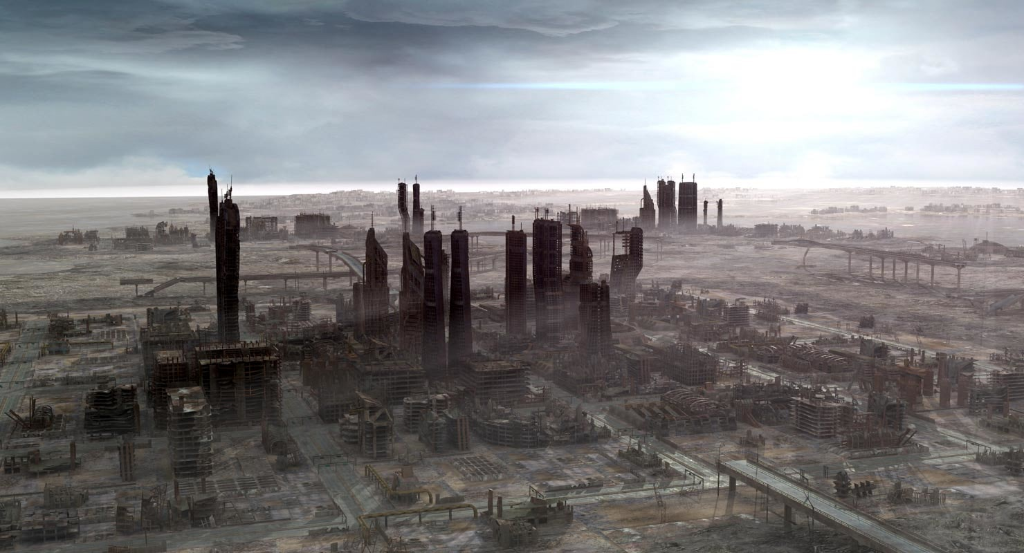 Marvel's The Avengers |Future Destroyed City
