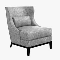 chair jonesy lounge 3d max
