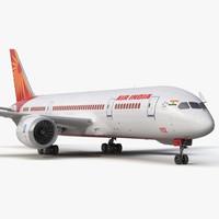 boeing 787 3 air india 3d max