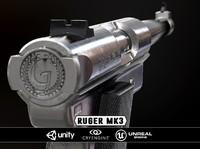 mk3 weapon 3d obj