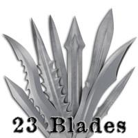 blades 3d model