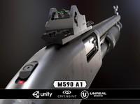 3d mossberg 590a1 model