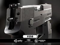3d model p250 cryengine unity