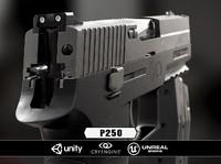 3d model p250 cryengine unity