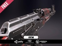 free x model akm unreal engine