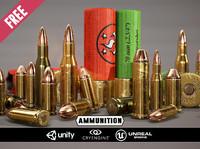 free ammunition - 3d model