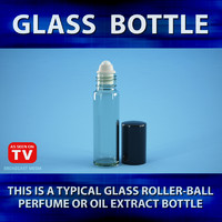 3d bottle glass model