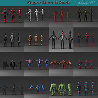 3ds new pack super heroes